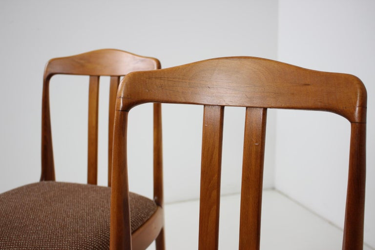 Set of Four Dining Chairs, 1960s For Sale 1