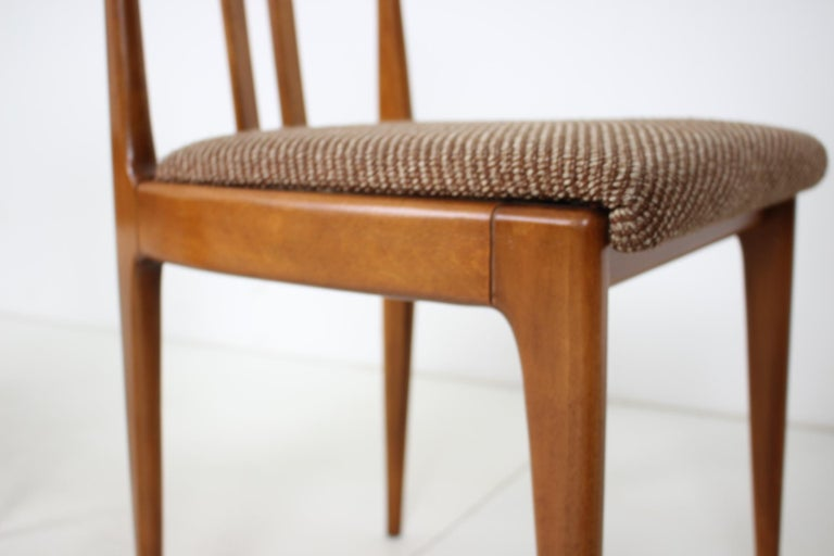Set of Four Dining Chairs, 1960s For Sale 2