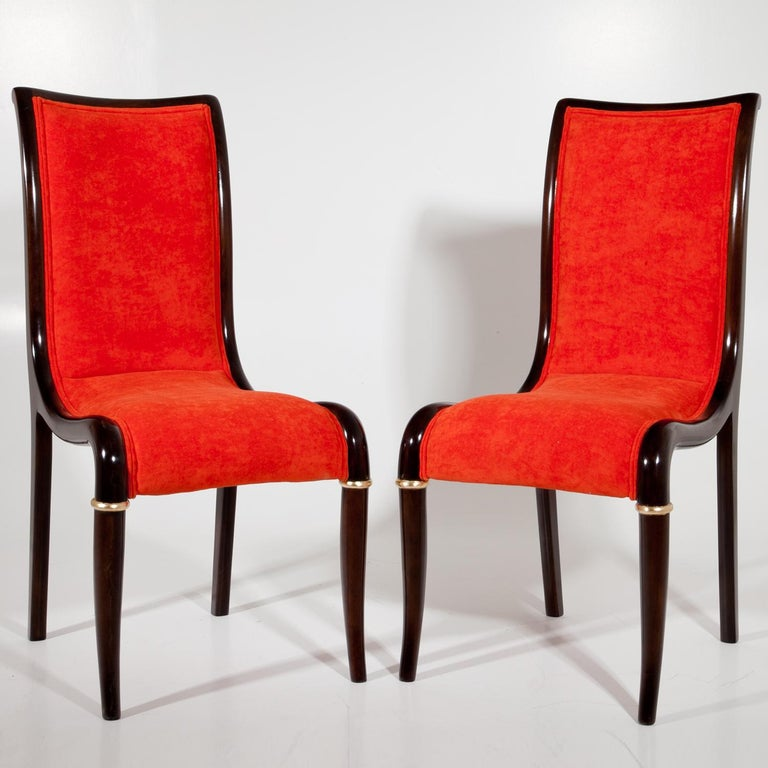 Set of Four Dining Room Chairs, 1980s For Sale 4