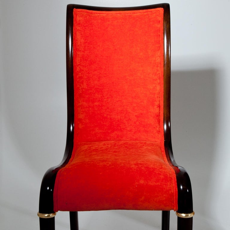 Set of Four Dining Room Chairs, 1980s For Sale 3