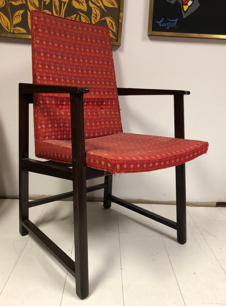 Set of Four Dunbar Side Chairs For Sale 7