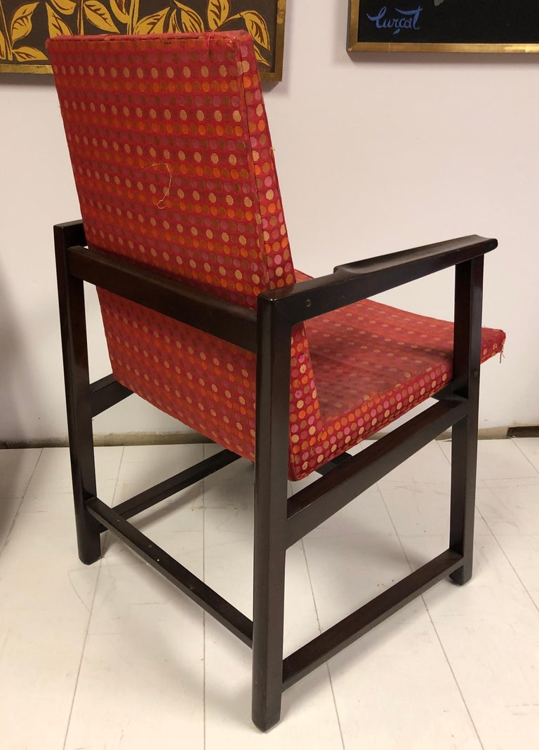 Set of Four Dunbar Side Chairs For Sale 8
