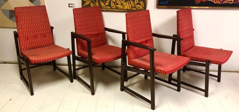 Set of Four Dunbar Side Chairs For Sale 9