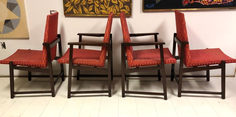 American Set of Four Dunbar Side Chairs For Sale