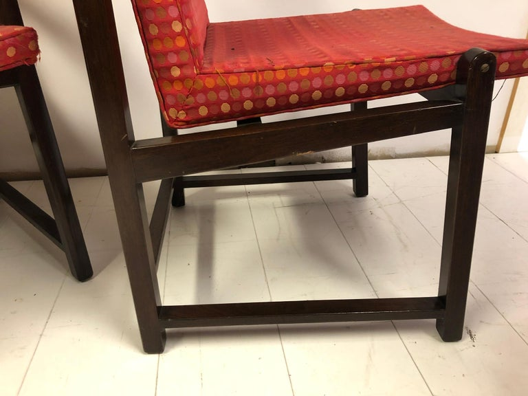 Set of Four Dunbar Side Chairs For Sale 1