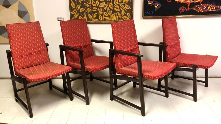 Set of Four Dunbar Side Chairs For Sale 2