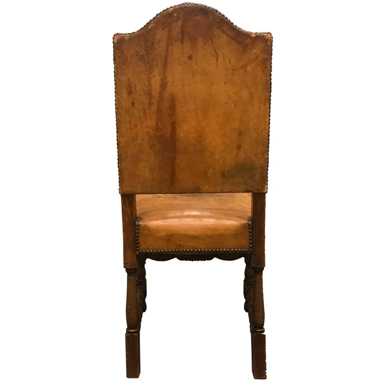 Set of Four Early 20th Century Danish Dining Chairs For Sale 1