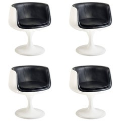 Set of Four Eero Aarnio Style Dining Chairs, circa 1960