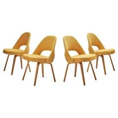 Set of Four Eero Saarinen for Knoll International Dining Chairs