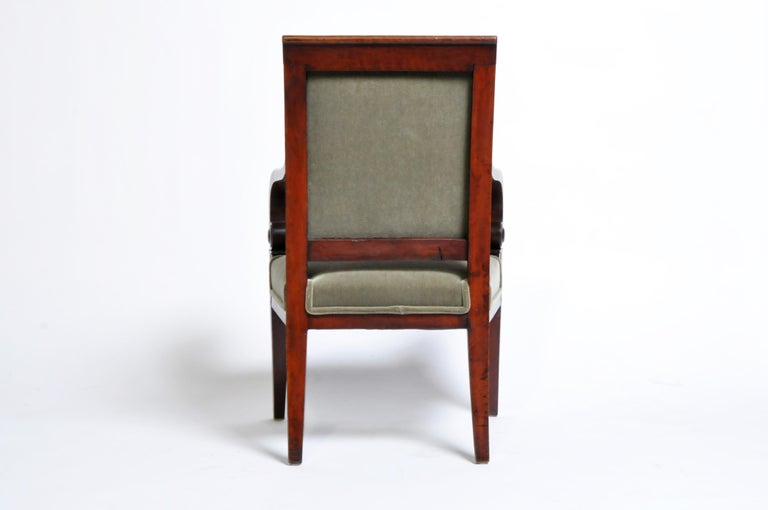 Set of Four Empire Period Armchairs For Sale at 1stdibs