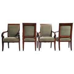 Set of Four Empire Period Armchairs