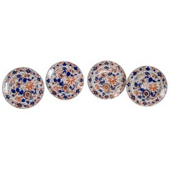 Set of Four English Ironstone Plates