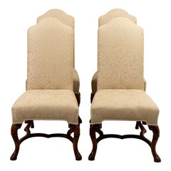 Set of Four English Style Side Chairs
