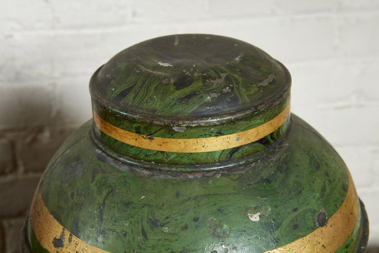 19th Century Set of Four English Tea Tins For Sale