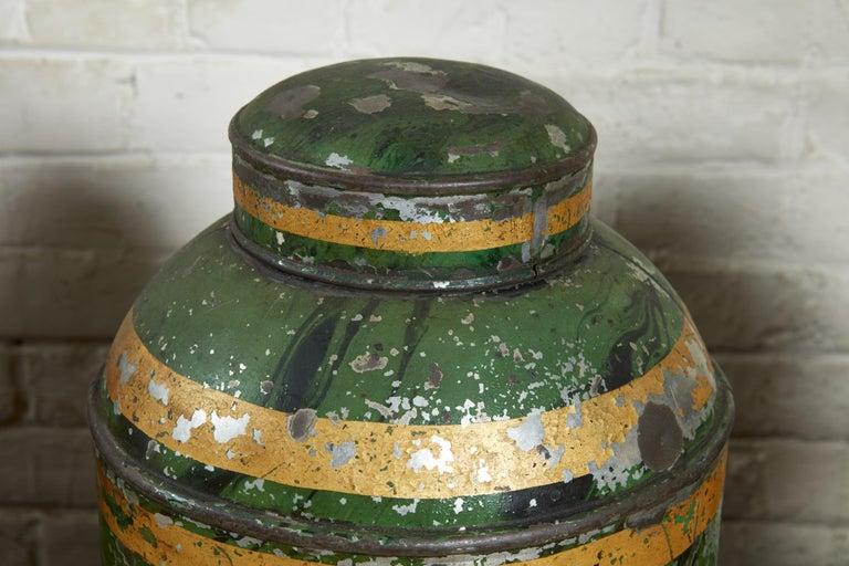 Set of Four English Tea Tins For Sale 2