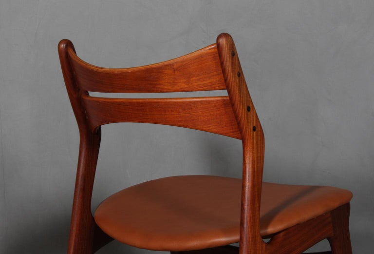 Mid-20th Century Set of Four Erik Buch Chairs For Sale