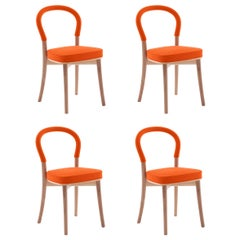 Set of Four Erik Gunnar Asplund 501 Göteborg Chair by Cassina