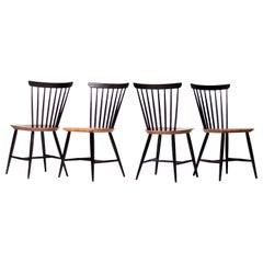 Set of Four Fanett Chairs by Ilmari Tapiovaara