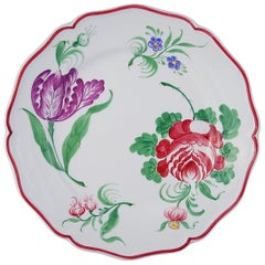 Set of Four Fiori Ceramic Plates
