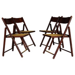 Set of Four Folding Chairs, 1970s
