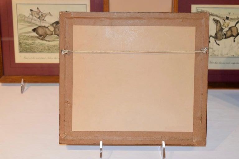 Set of Four Framed Equestrian Engravings 3