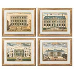 Set of Four Framed Trowbridge Prints