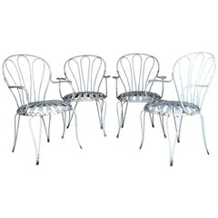 Francois Carre Iron Garden Chairs