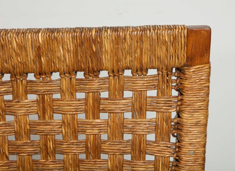 Set of Four French Caned Chairs from 1940s-1950s For Sale 3