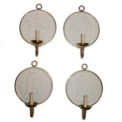 Set of Four French Neoclassic Sconces