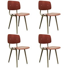 Set of Four Friso Kramer Revolt Chairs, 1953
