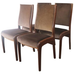 Set of Four G Plan 1970s Midcentury Dining Chairs
