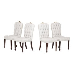 Set of Four George III Style Dining Chairs