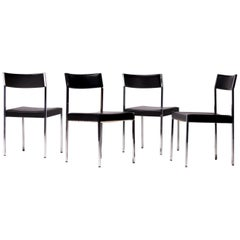 Set of Four German Architectural Dining Chairs