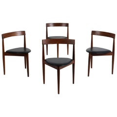 Set of Four Hans Olsen for Frem Rojle Dining Chairs