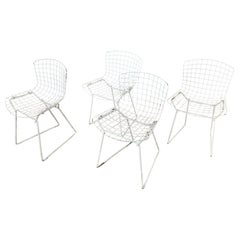 Set of Four Harry Bertoia Designed Child Chairs for Knoll