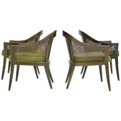 Set of Four Harvey Probber Pull-Up Chairs