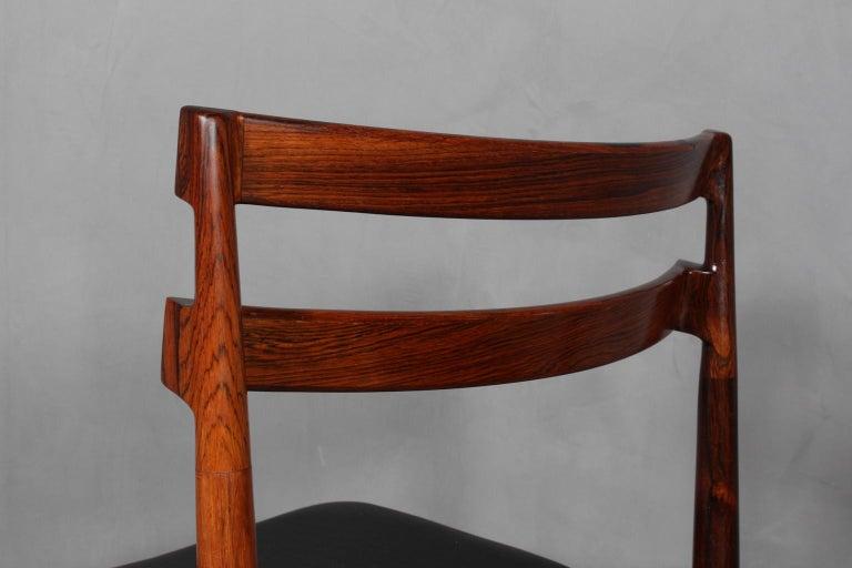 Set of Four Henry Rosengren Hansen Dining Chairs For Sale 1