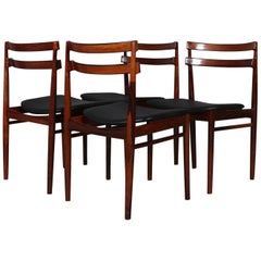 Set of Four Henry Rosengren Hansen Dining Chairs