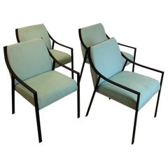 Set of Four Holly Hunt Designed by Christophe Pillet 'Aileron' Armchairs