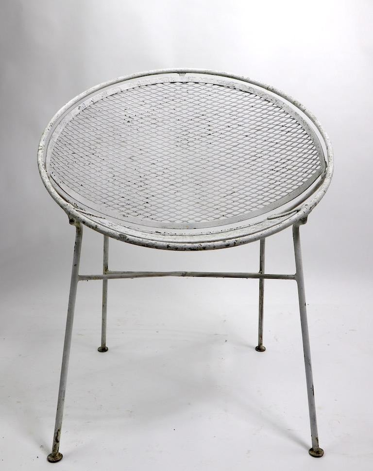 20th Century Set of Four Hoop Chairs by Salterini For Sale