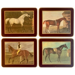 Set of Four Horse Coasters