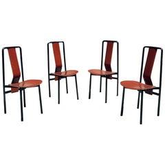 Set of Four Irma Chairs by Achille Castiglioni for Zanotta, 1979