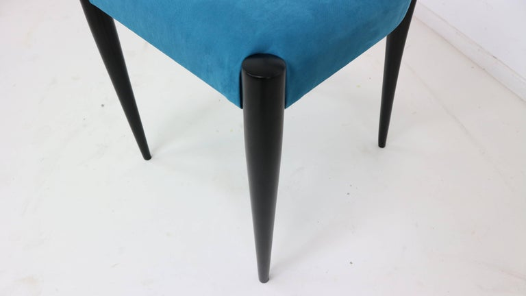 Set of Four Italian Dining Chairs by Melchiorre Bega, 1950s For Sale 5
