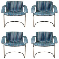 Set of Four Italian Midcentury Chairs by Saporiti Italia FINAL CLEARANCE SALE
