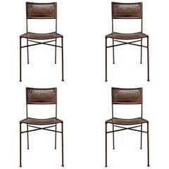 Set of Four Italian Modern Dining Chairs