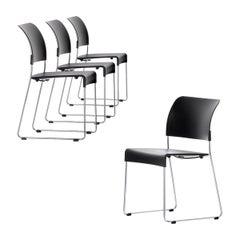 Set of Four Jasper Morrison Sim Chairs by Vitra
