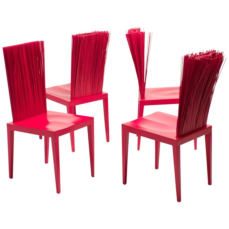 Set Of Four Jenette Chairs By The Campana Brothers For