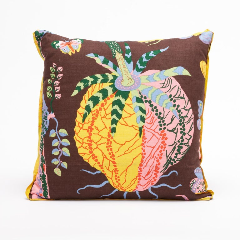 Mid-Century Modern Set of Four Josef Frank Cushions in the