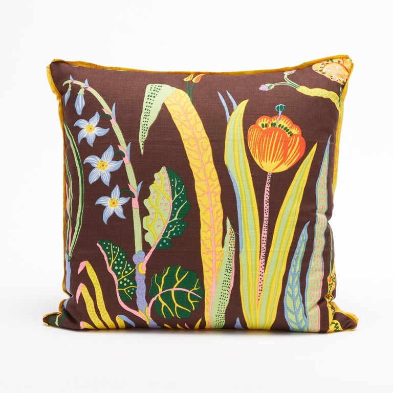 American Set of Four Josef Frank Cushions in the