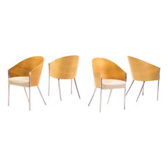 Set of Four King Costes Chairs by Philippe Starck
